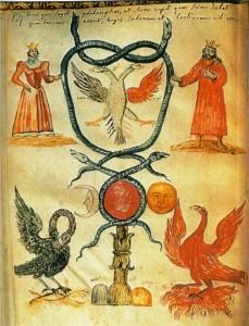 Águia, Pelicano & Fênix - Figuarum Aegyptorum Secretarum, séc. XVIII