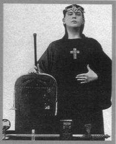 O mago Aleister Crowley