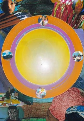 Mandala de Luz, capa da Tese em Arteterapia, por Maitê Luz