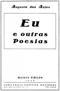 Fronstispício da 5ª edição de EU - 1929