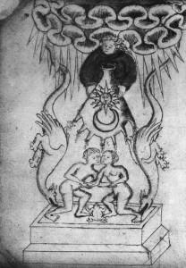Bestiário Alquímico, sec.XVII, British Museum