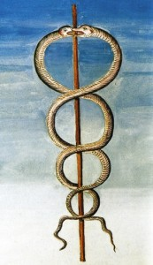 O Caduceu de Hermes Trimegistos