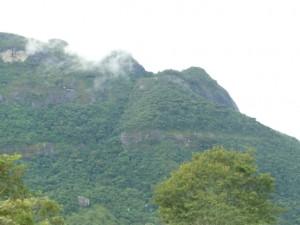 Pico do Papagaio, Aiuruoca, vista da Pousada Mandala das Águas