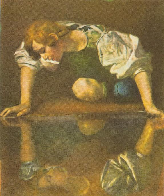 Caravaggio (1573-1610) - Narciso na Fonte