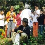 Carlos Prado homenageado com apresentação musical por alunos da Escola Mutirão