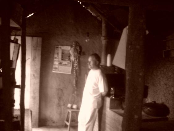 Casa Caipira, foto do poeta mineiro Diovvani Mendonça