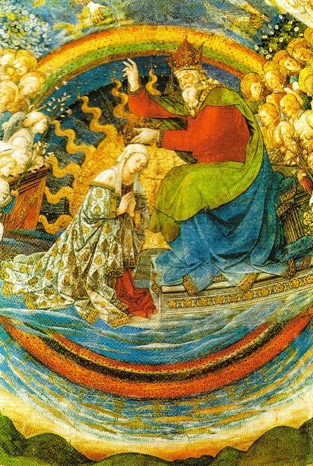 Coroação da Virgem, afresco Filippo Lippi, 1466-69