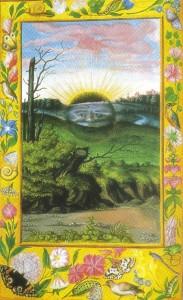 Crepusculo - 'Splendor Solis' - Tratado alquimico de S. Trismosin, London, sec. XVI