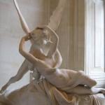 Cupido e Psique; Antonio Canova, mármore (1757-1822)