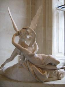 Eros e Psique; Antonio Canova, mármore (1757-1822)