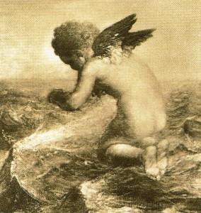Cupidon Pechant; G.Frederick Watts, sepia, 1890.0.5