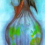 Só a verdadeira magia do amor poderã nos libertar do subjugo das ilusôes do Mundo. (Ilustr. de Jan Parker)