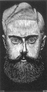 Autorretrato, 1922