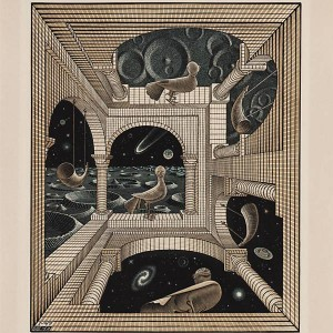 Outro Mundo-xilogravura,1947