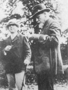 Ernest Jones e Freud, 1919