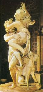 Hades rapta Persefone -mármore de Lorenzo Bernini