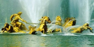 Helios e sua Quadriga; Jardins do Palácio de Versailles