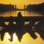 Hélios e sua Quadriga ao crepúsculo de Versalles