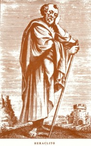 Heráclito pontuou a imparmanência de todas as coisas, que os jogos, melhor que tudo, representam.