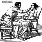 Chasyenet de Puységur aplicando passes sonambúlicos a uma paciente