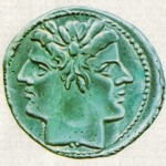 Jano Bifronte2 - moeda romana