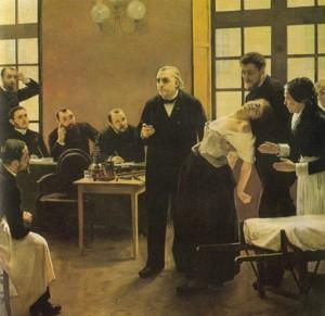 Lições das Terças-feiras, ministradas por Charcot em Salpêtrére