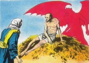 Jó tentado pelo demônio, ilustr. Gianni de Luca