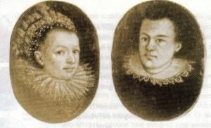 Kepler & Barbara Gattin, sua primeira esposa