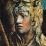 Héracles coberto com a pele do leão de Nemeia