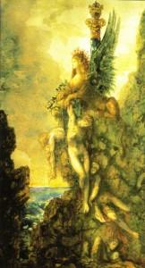 Le Sphinx Triomphant, aquarela de Gustave Moreau, 1888