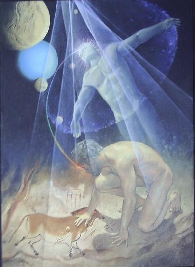 Mitalma - óleo sobre tela do renomado artista plástico Eduardo Vilela