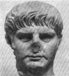 Fronte em mármore de Nero, 54 d.C. - Museo delle Terme, Roma