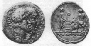 Numa Pompilio - moedas de 88 e 97a.C.0.5