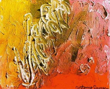 O Interior da Caverna, óleo sobre tela, Antônio Gomes, 1999, (SP)