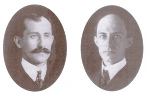 Orville e Wilbur Wright: os irmãos Cara de Pau.