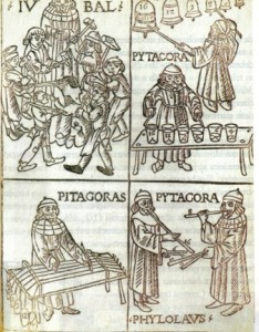 Theorica Musicae, 1492 - obra pitagórica do músico Gaffurius (1451-1522)