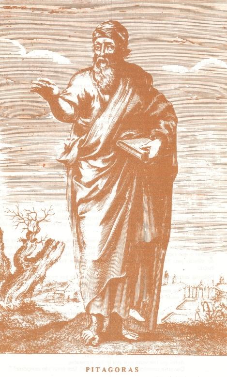 Pitágoras, copyright Ordem Rosacruz (A.M.O.R.C.)