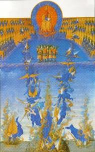 Queda dos Anjos Rebeldes - Duc de Berry,1411-1416