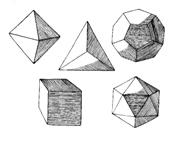 Os 5 sólidos perfeitos