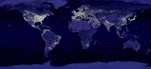 Terra à noite1