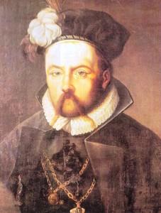 Tycho Brahe, óleo sobre tela de pintor anônimo, século XVII