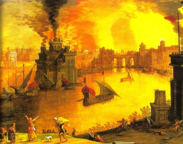 Troia em chamas
