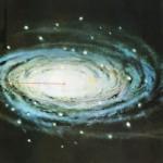 """O ponto """"S"""", há 300.000 anos luz do centro da Via láctea (uma dentre as infinitas galáxias do Universo), resume em si todo o nosso Sistema Solar"""