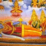 Vishnu repousa sobre Ananta, Serpente da Eternidade